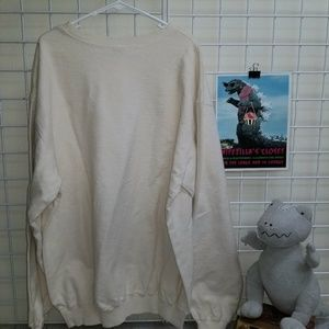 SIDEOUTSPORT Shirts - Side Out Sport white long sleeve sweatshirt - XL